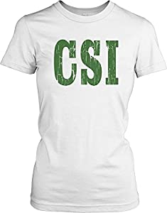 CSI - Crime Scene Investigation Ladies T Shirt - Movie & TV