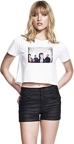 Don Broco Automatic Continental Jersey ritagliata femminile Women Cropped T-Shirt Stylish Fashion Fit Custom Apparel By Genuine Fan Merchandise Small