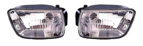 Chevy Trailblazer 02 03 04 05 06 Fog Light Foglight Pair (04 Chevy Fog Lights compare prices)