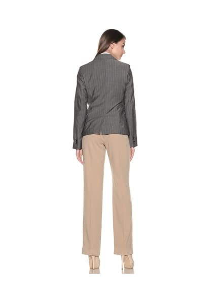 Loro Piana Women's Mohair Stripe Parker Jacket