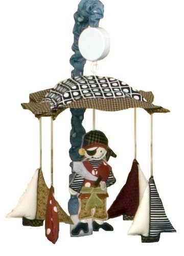 Cotton Tale Designs Pirates Cove Musical Mobile - 1