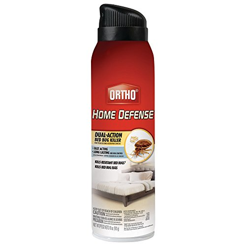 Home Defense Dual-Action Bed Bug Killer Aerosol Spray