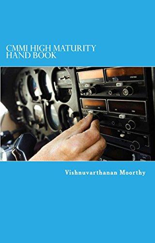 Book: CMMI High Maturity Handbook by Vishnuvarthanan Moorthy