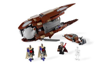 Lego Star Wars 7752  Count Dooku's Solar Sailer