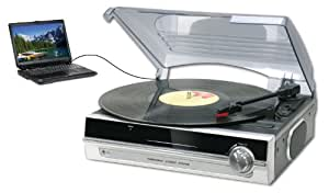 Curtis SRCD872 Sylvania Turntable with Direct Encoding to PC