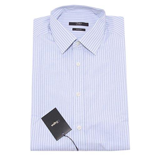 4667O camicia manica lunga LINEA ZZEGNA ERMENEGILDO ZEGNA uomo shirt men [42 (16 1/2)]