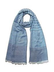 Lotsa Fashion Women's Designing Viscose Scarf (LF85110VC1182_Multi-Colored_Freezise)