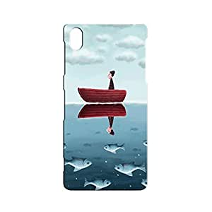 BLUEDIO Designer 3D Printed Back case cover for Sony Xperia Z5 - G2292