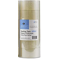 6-Pack S.P. Richards Company Package Sealing Tape - Clear