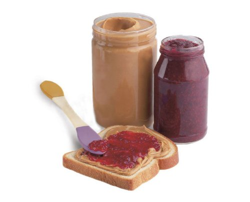 Breakfast Time Peanut Butter and Jelly Spreader