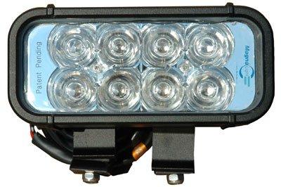 Larsonelectronics Led Light Bar Emitter - 8 3-Watt Leds - Aluminum Housing - 1440 Lumens- 9-42V - 325'L X 70'W Beam