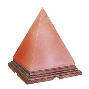 Indus Classic Himalayan Rock Salt Crystal Pyramid Lamp