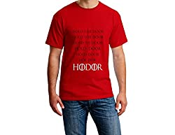 Teeforme Hold The Door T-shirt Red