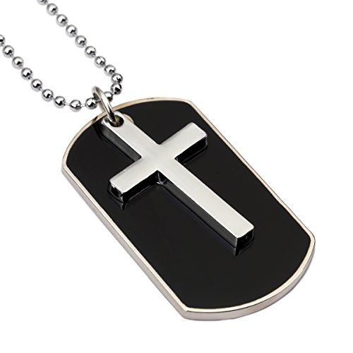 nyuk-mens-cross-tags-necklaceblack