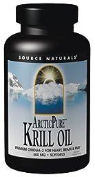 Source Naturals ArcticPure Krill Oil 500mg, 30 Softgels
