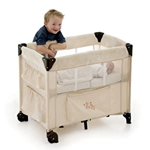 Hauck Dream N Care Portable Crib Beige Discontinued By Manufacturer Baby