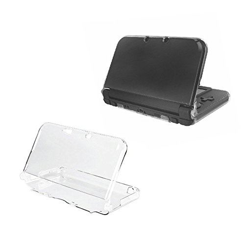 Orzly - InvisiCase for NEW 3DS XL Console (2015 Model) - 100% CLEAR Protective Cover Shell for the New 2015 Model of Nintendo 3DS XL Handheld Games Console (New 3DS XL / N3DS XL) - TRANSPARENT (3ds Xl Console Limited compare prices)