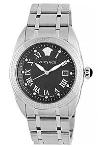 Versace Men's VFE050013 V-Spirit Analog Display Quartz Silver Watch