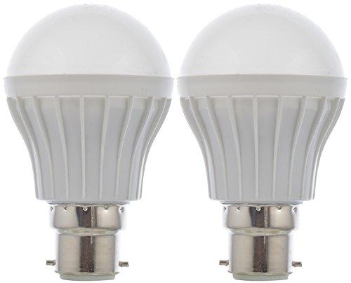 Rainz Gold 5 W LED Bulb (White, Pack of 2)