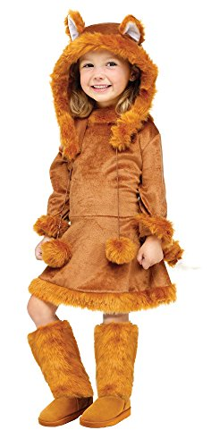 Fun World Costumes Baby Girl's Sweet Fox Toddler Costume