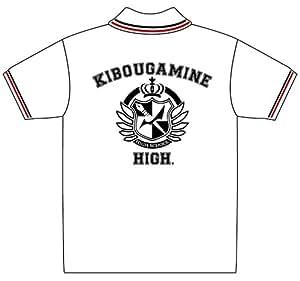 Amazon.com: Super Dangan Ronpa 2 - Kibogamine Gakuen Polo-shirt (White