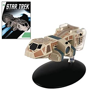 Star Trek Starships Neelixs Ship Baxial Die-Cast Vehicle with Collector Magazine #76