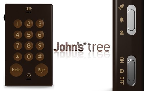 JOHN'S PHONE 'TREE' (BROWN) is the world's most basic unlocked cell phone. No frills - no unnecessary features such as a camera, text messaging or an endless number of ringtones. JOHN'S PHONE features large buttons, a concealed paper address book & pen and an energy efficient battery that can last for 3 weeks on stand-by. JOHN'S PHONE allows you to make and receive calls throughout most of the world. JOHN'S PHONE keeps things simple.