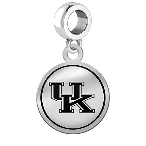 Kentucky Wildcats Border Round Dangle Charm