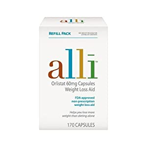 Alli 170 Count Refill Pack by Alli