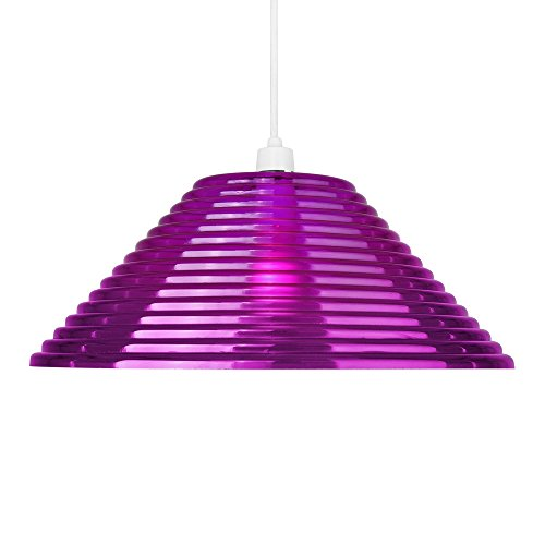 -suspension-lustre-contemporain-aztec-pyramide-striee-en-violette-claire-cordon-electrique-compris