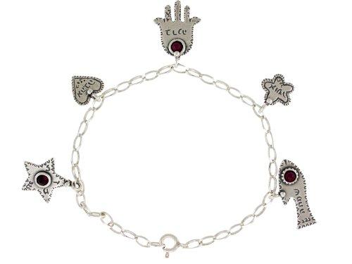 Jewish Jewelry Bracelet. 925 Sterling Silver 7.5