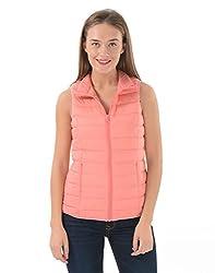 U.S.Polo Association Women Casual Jacket (_8907163236838_Pink_XX-Large_)