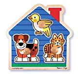 House Pets Jumbo Knob Puzzle - (Child)