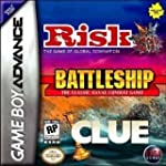 Risk/Battleship/Clue - Game Boy Advance