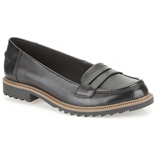 Clarks Griffin Milly, Stivali donna Nero nero, Nero (nero), 5 UK D