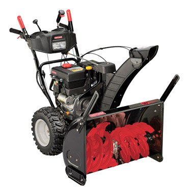 craftsman 24 in 208cc dual stage snow thrower manual
