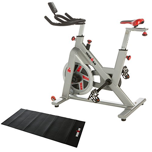 IRONMAN Fitness H-Class 510 Indoor Training Cycle with Digital Computer, Heart Rate System and BONUS Equipment Mat (Indoor Training Cycle compare prices)