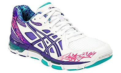 asics netball trainers size 6