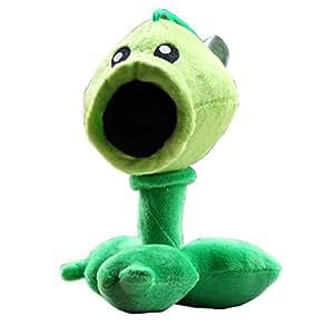 Plants Vs Zombies Garden Warfare Plush Toy Pea Shooter Pvz Soft Doll Toys Games