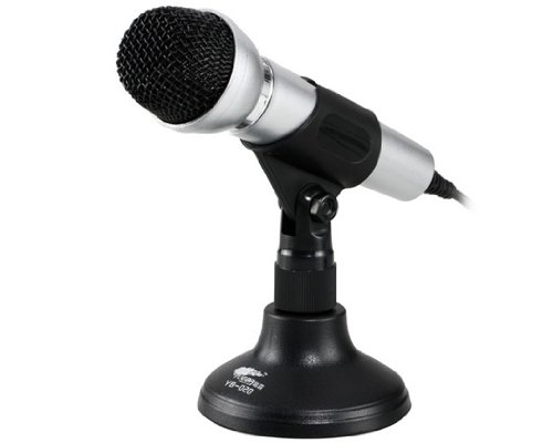 Yueba Yb-028 Desktop Microphone With 2 M Cable (Black)