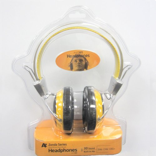 Zonda Series Dual Driver Bass Boost Headphones 3D Sound With Built-In Mic