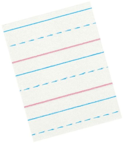Dotted Lined Paper For Kids