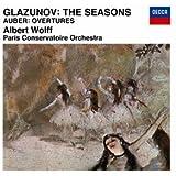 グラズノフ:バレエ音楽「四季」/オーベール:序曲集