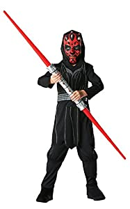Star Wars - Darth Maul Costume - CHILD UK LARGE