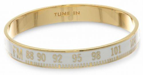"""Kate Spade New York """"Idiom Bangle Bracelets"""" Tune In Bangle Bracelet, 2.5″"""