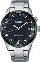 SEIKO Spirit Smart Men Solar Radio Wave Control Watch SBTM177 (Japan Import)