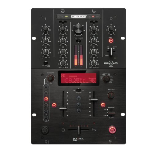 Reloop IQ2-MIDI 2+1 Channel Professional DSP Mixer with USB Terminal (Preset Hi Mixer compare prices)