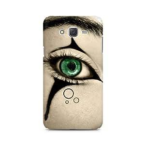 MOBICTURE Eyes Premium Designer Mobile Back Case Cover For Samsung J5 2016 Version