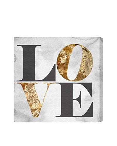 Oliver Gal Build On Love Stone Canvas Art