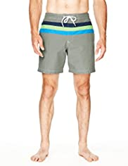 North Coast Cut & Sew Colour Block Swim Shorts